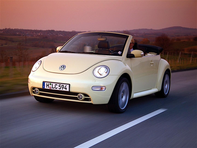 Volkswagen Beetle Convertible >> VOLKSWAGEN Beetle Cabrio specs & photos - 2003, 2004, 2005 ...