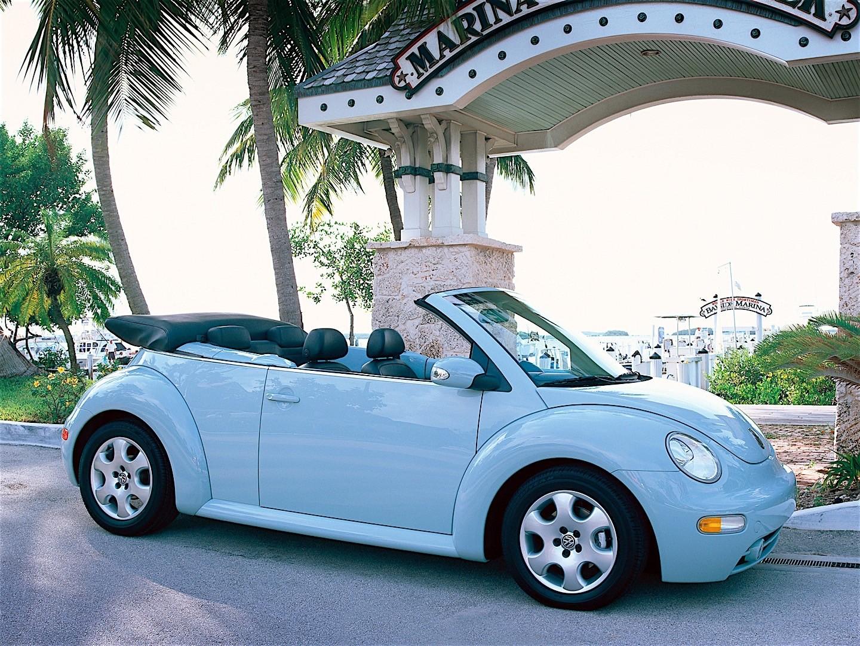 VOLKSWAGEN Beetle Cabrio - 2003, 2004, 2005 - autoevolution