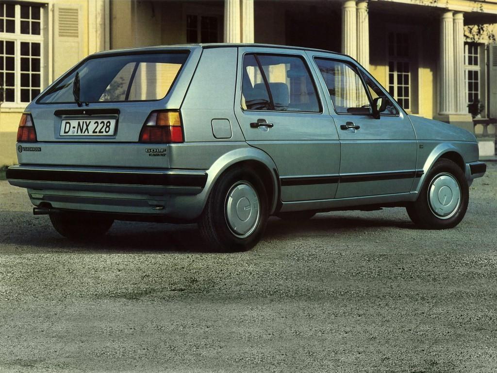 volkswagen golf ii 5 doors specs photos 1983 1984. Black Bedroom Furniture Sets. Home Design Ideas