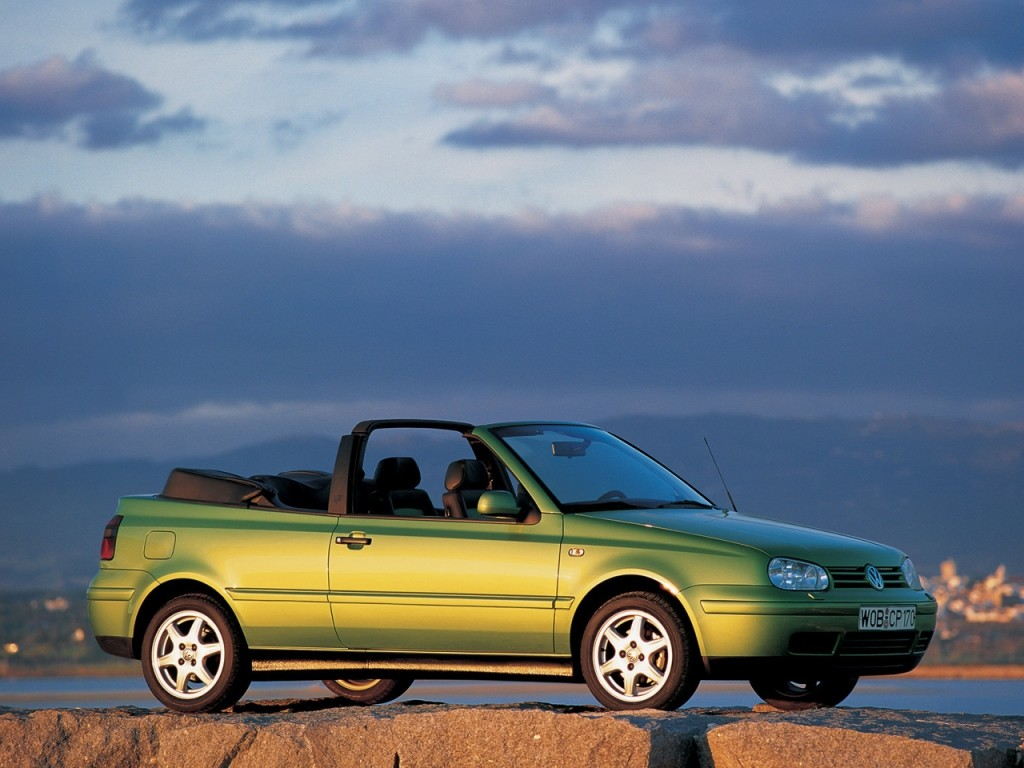 volkswagen golf iii cabrio specs photos 1993 1994. Black Bedroom Furniture Sets. Home Design Ideas