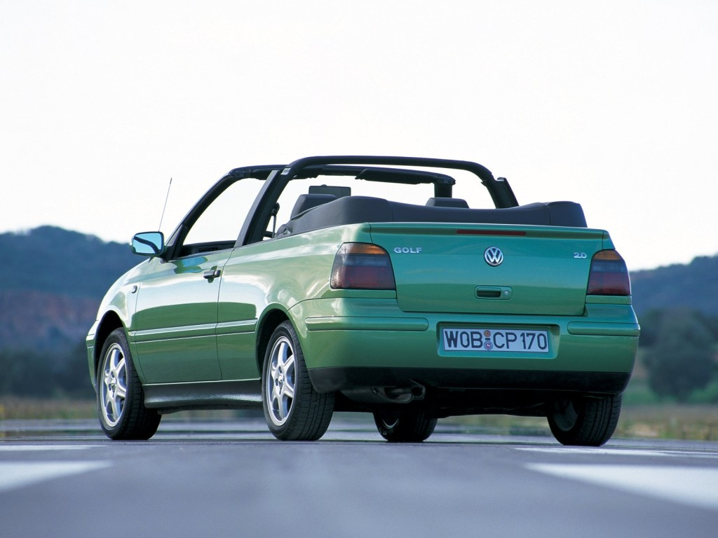 volkswagen golf iii cabrio specs photos 1993 1994. Black Bedroom Furniture Sets. Home Design Ideas