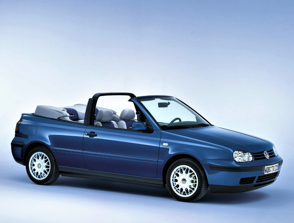 VOLKSWAGEN Golf III Cabrio specs & photos - 1993, 1994, 1995, 1996, 1997, 1998 - autoevolution