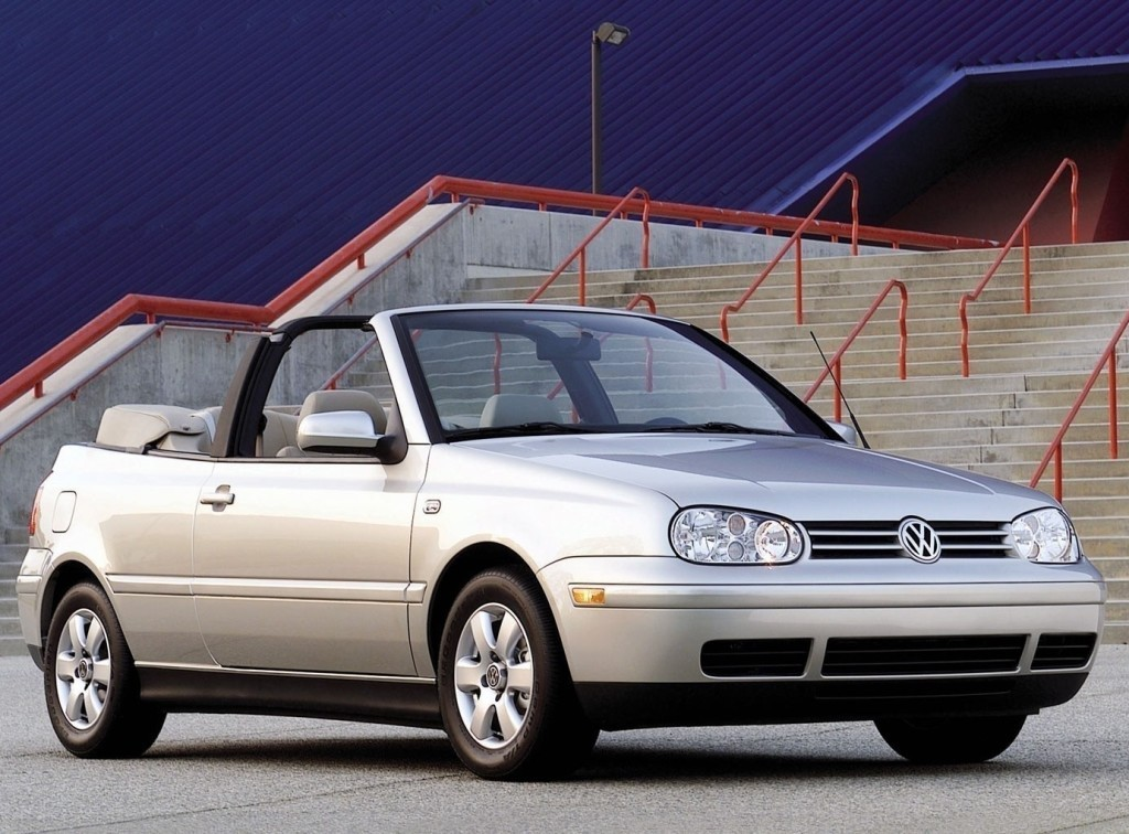 VOLKSWAGEN Golf III Cabrio specs & photos - 1993, 1994, 1995, 1996, 1997, 1998 - autoevolution