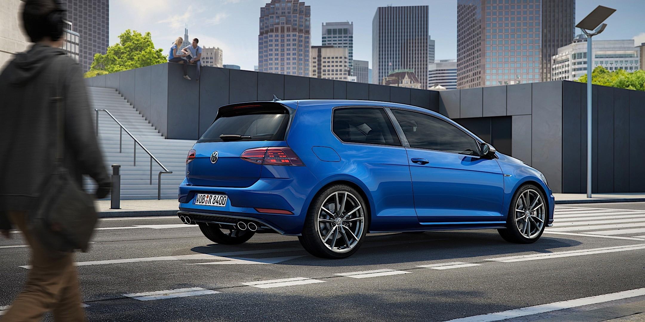 Volkswagen Golf Vii R 2017 Present