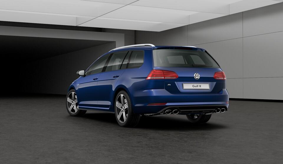 Volkswagen Golf R Variant 2017 Autoevolution