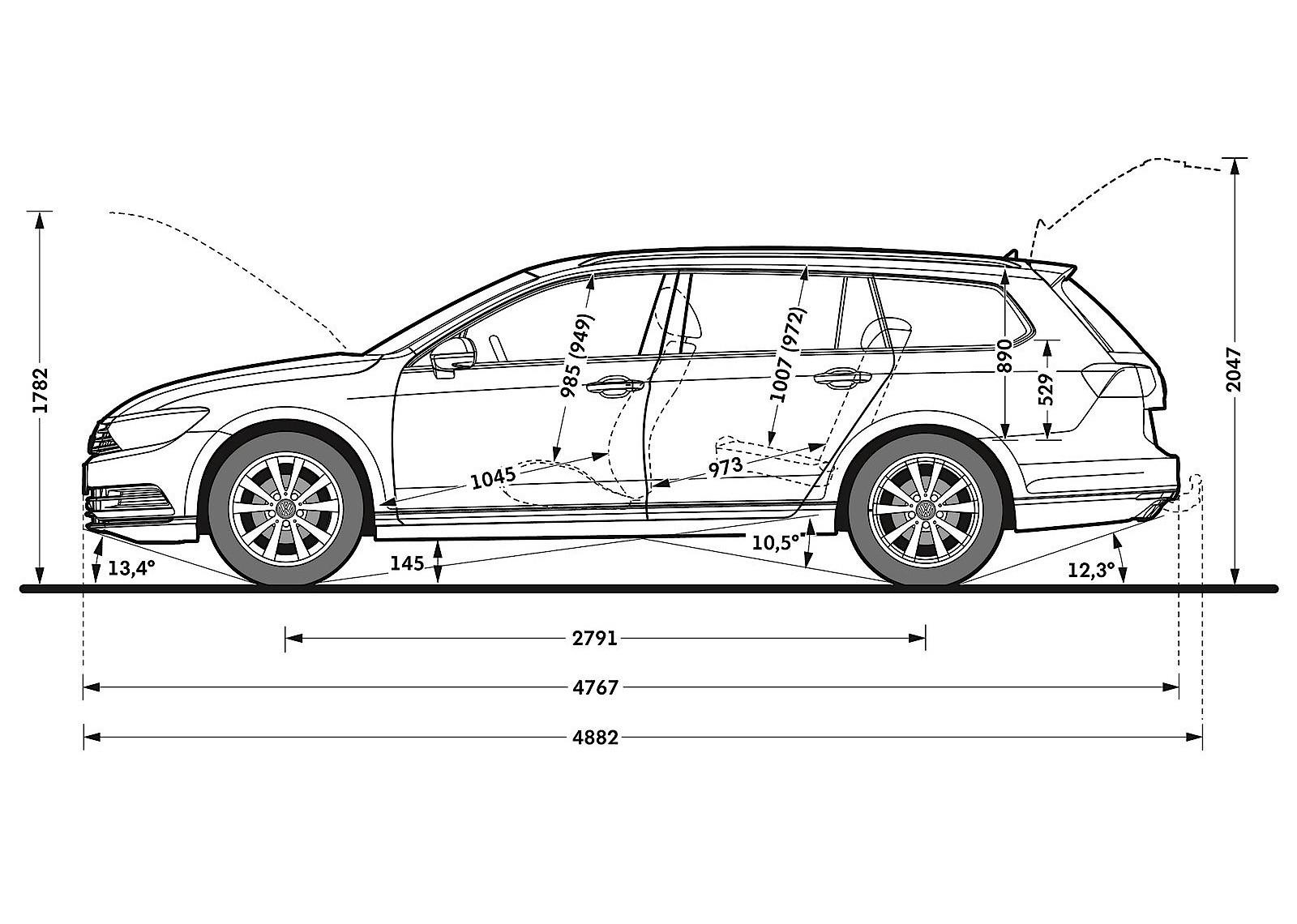 Volkswagen Passat Variant Specs