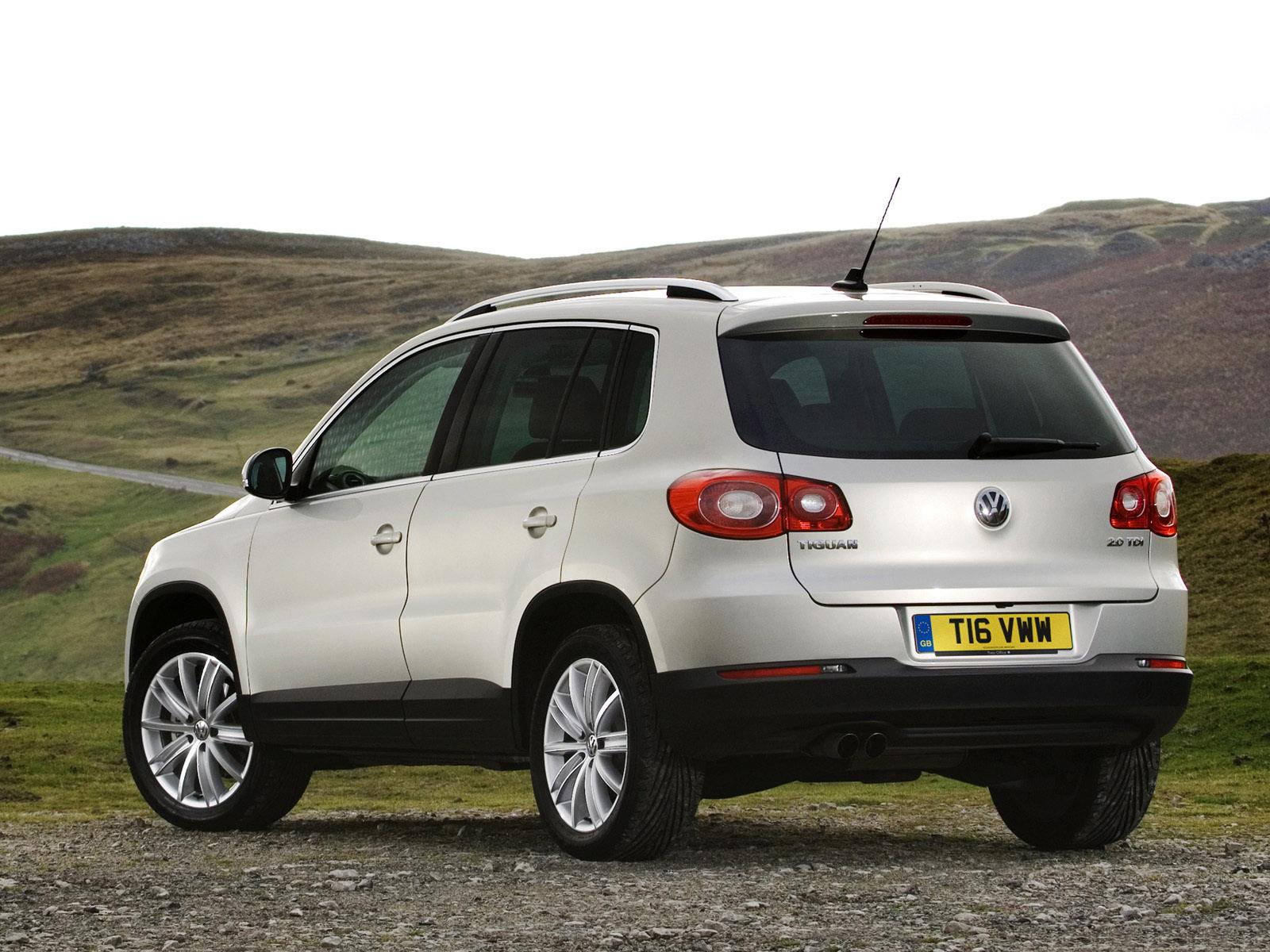 Volkswagen Tiguan 2008 2009 2010 2011 Autoevolution