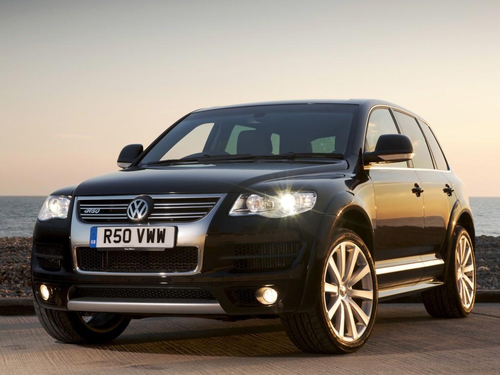 Volkswagen Touareg Ilmajousitus