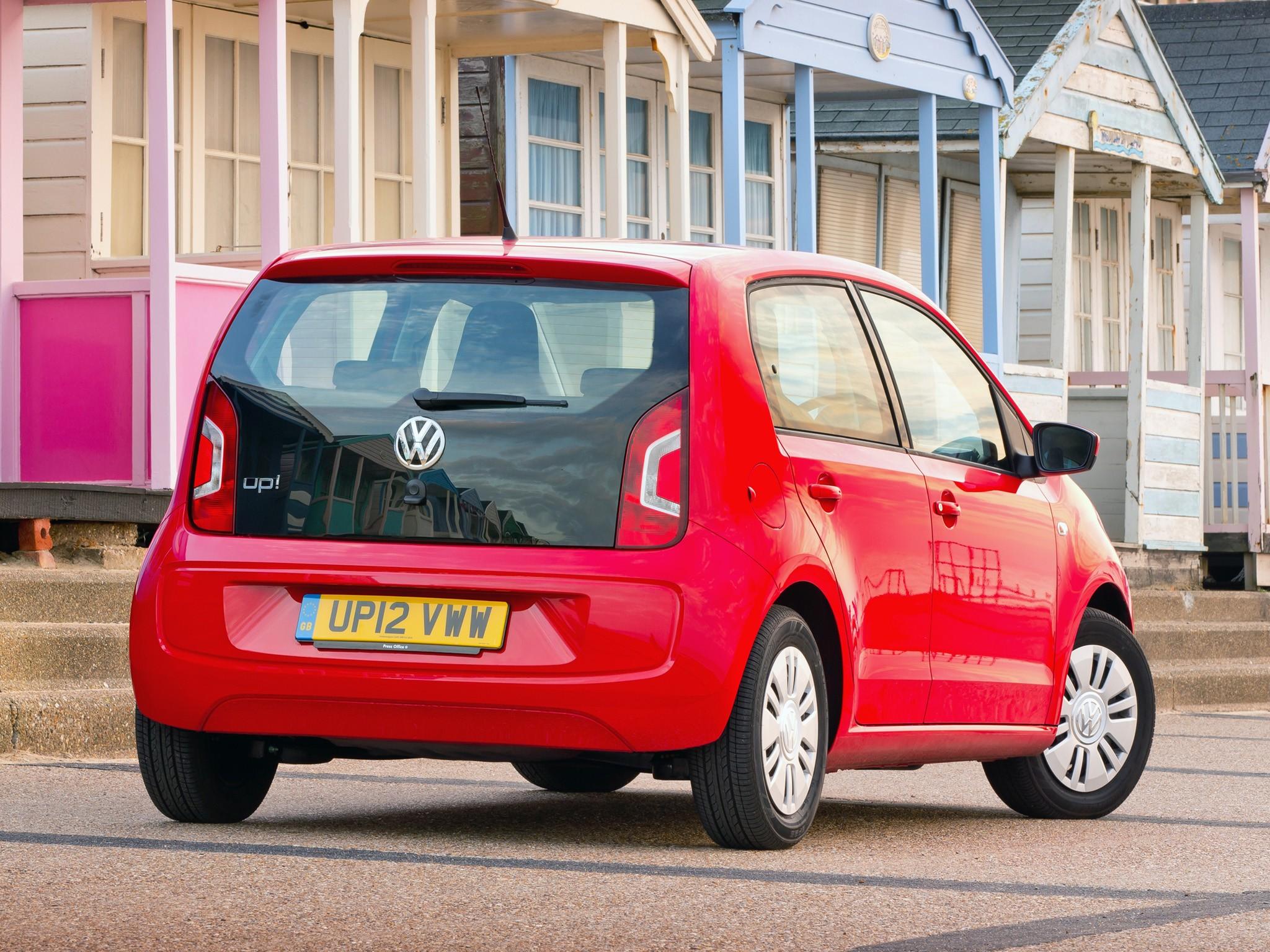 volkswagen up 5 doors 2012 present