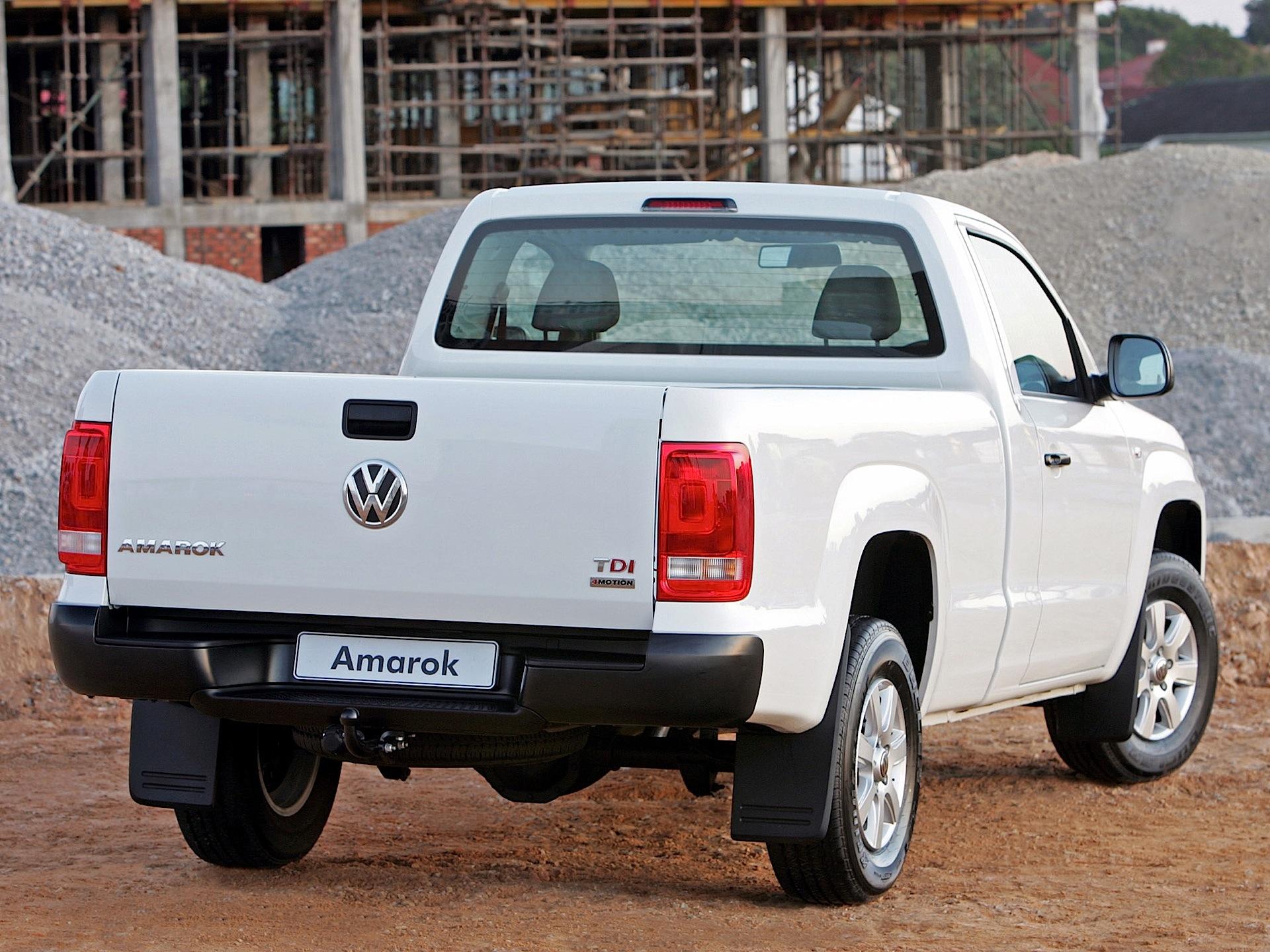 Volkswagen Amarok Single Cab 2011 2012 2013 2014