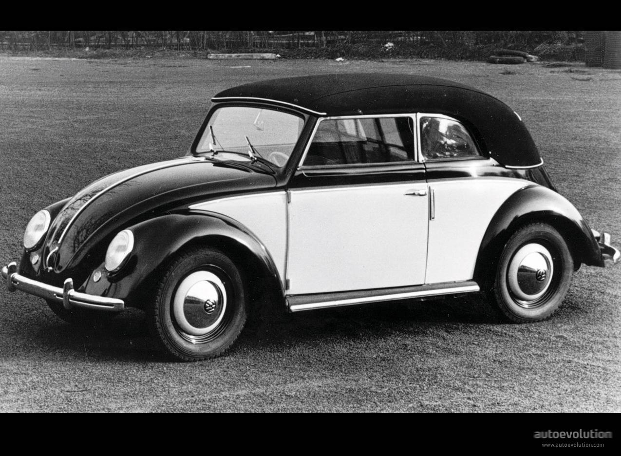 VOLKSWAGEN Beetle - 1945, 1946, 1947, 1948, 1949, 1950, 1951, 1952, 1953, 1954, 1955, 1956, 1957 ...