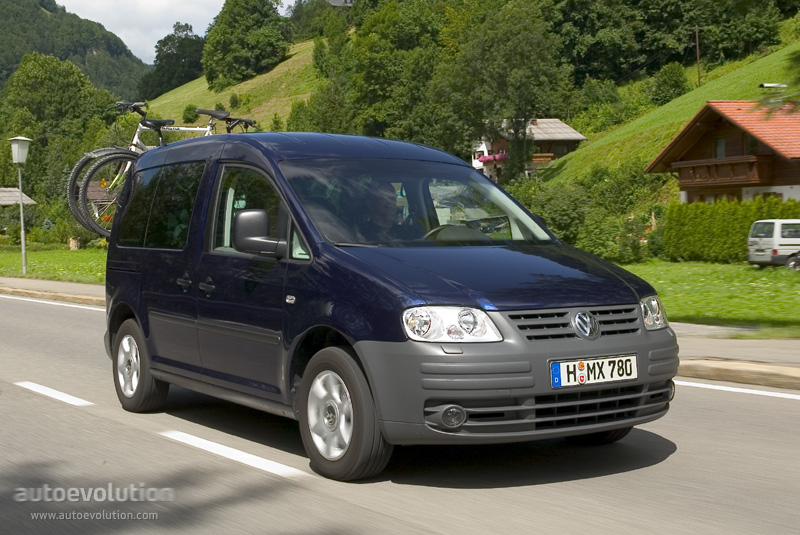 VOLKSWAGEN Caddy specs & photos - 2005, 2006, 2007, 2008, 2009, 2010 - autoevolution