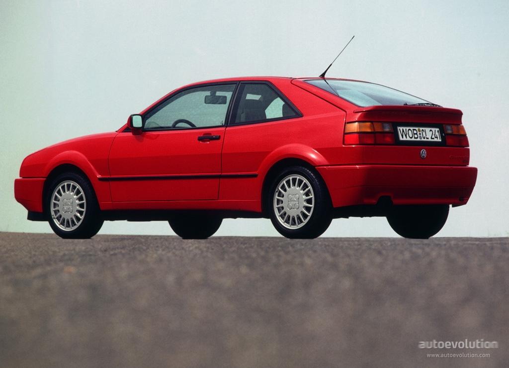 VOLKSWAGEN Corrado - 1989, 1990, 1991, 1992, 1993, 1994, 1995 - autoevolution