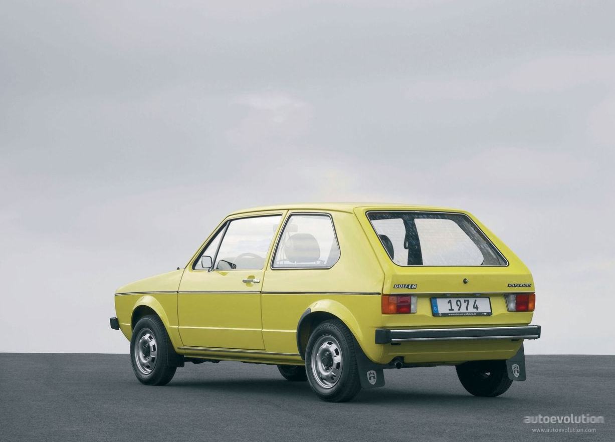 Volkswagen Golf I 3 Doors 1974 1975 1976 1977 1978