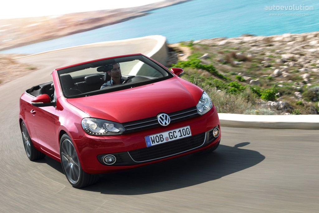 volkswagen golf cabrio 2011 2012 2013 2014 2015 autoevolution. Black Bedroom Furniture Sets. Home Design Ideas