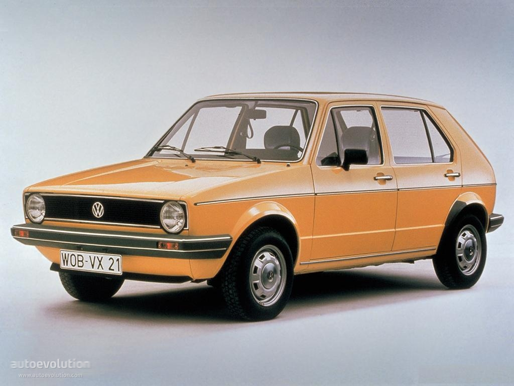 VOLKSWAGEN Golf I (5 Doors) specs & photos - 1974, 1975, 1976, 1977, 1978, 1979, 1980, 1981 ...