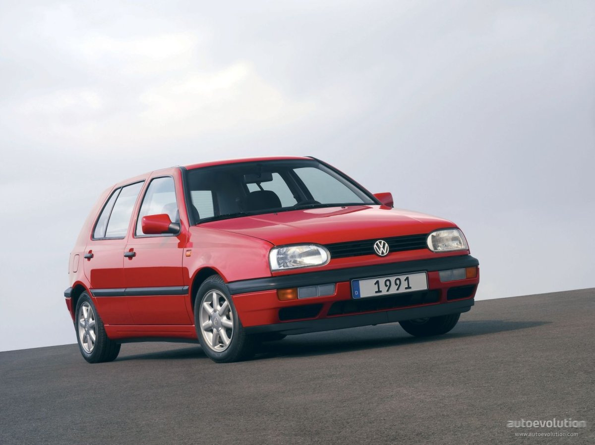 VOLKSWAGEN Golf III 5 Doors (1992 - 1997) ...