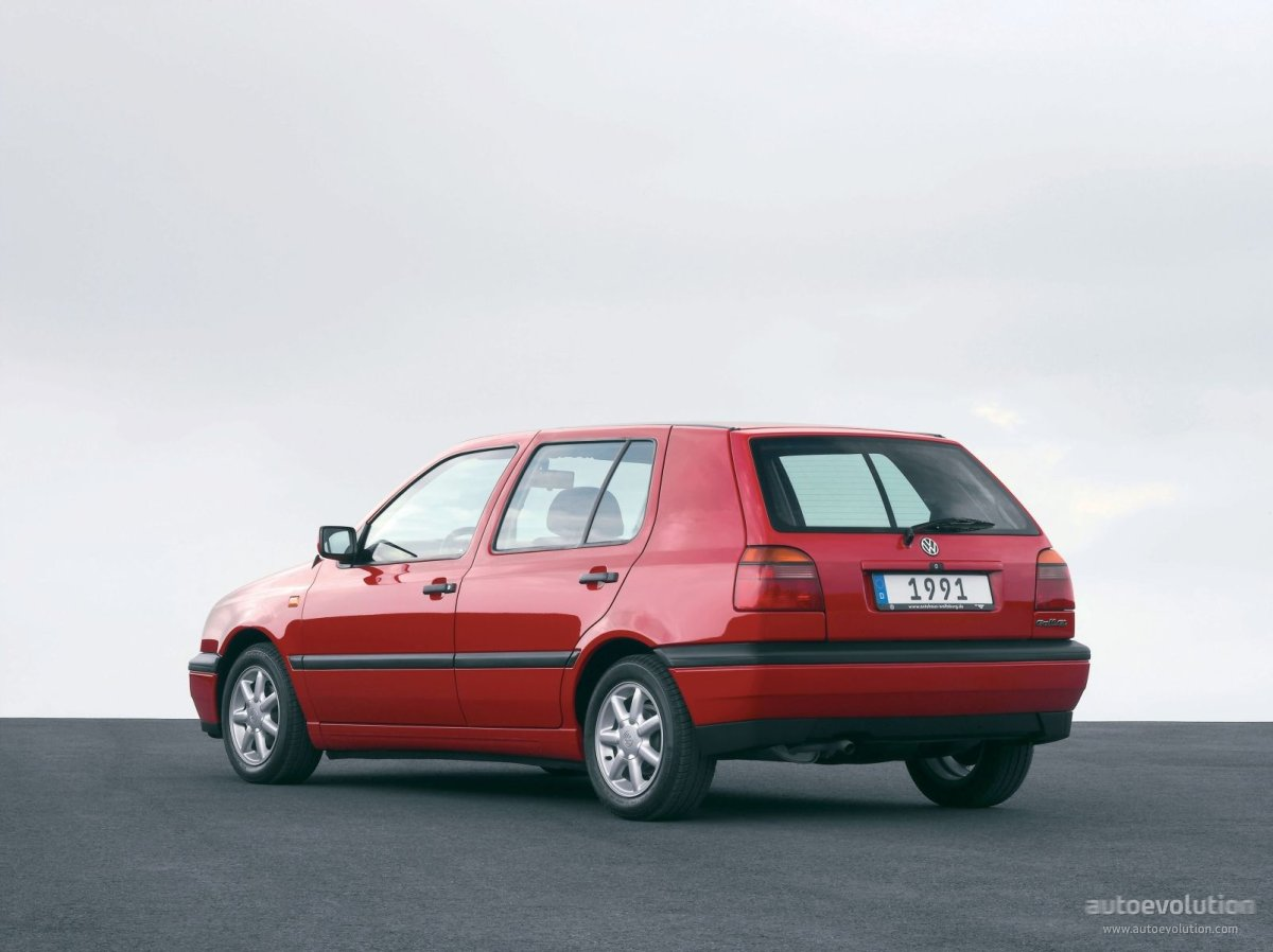 ... VOLKSWAGEN Golf III 5 Doors (1992 - 1997) ...