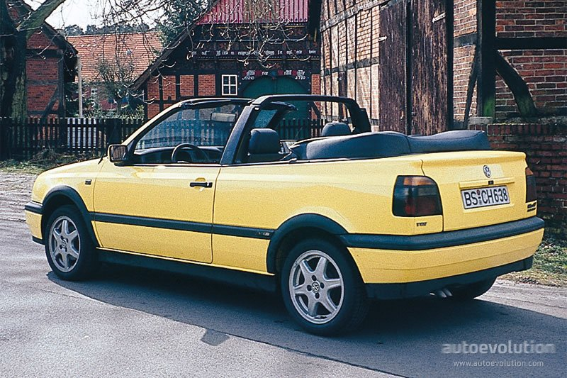 volkswagen golf iii cabrio specs photos 1993 1994 1995 1996 1997 1998 autoevolution. Black Bedroom Furniture Sets. Home Design Ideas
