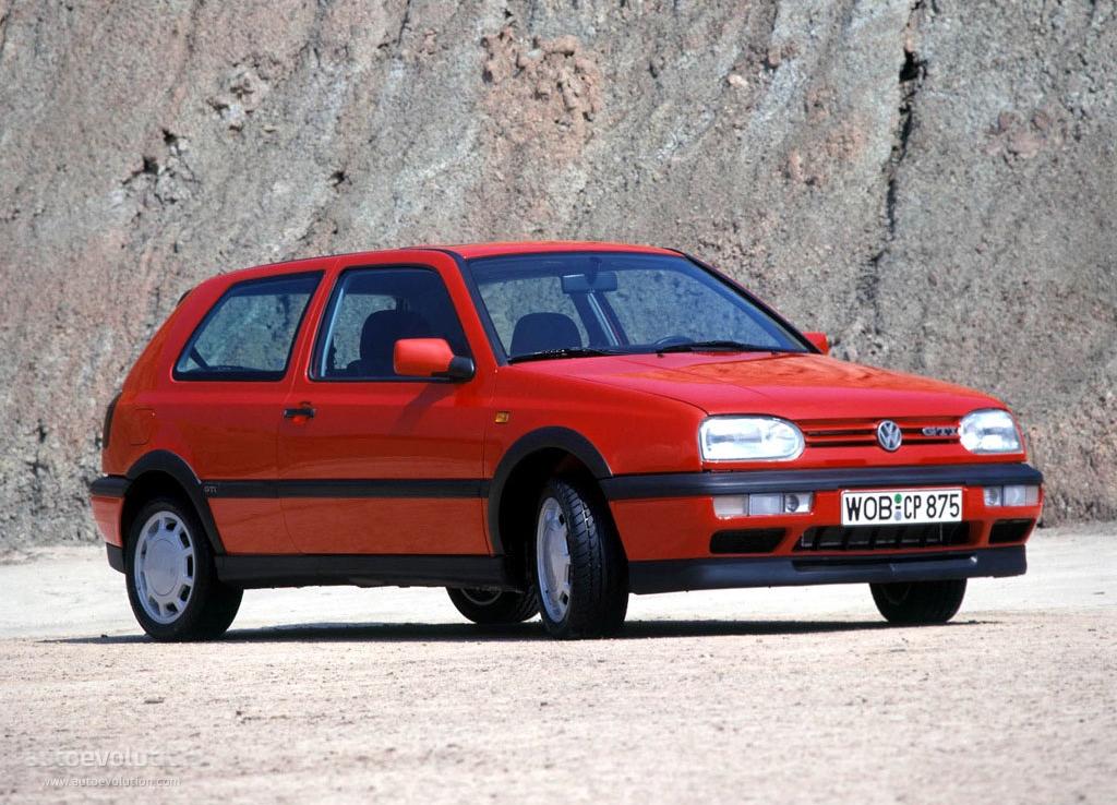 VOLKSWAGEN Golf III GTI specs - 1992, 1993, 1994, 1995, 1996, 1997