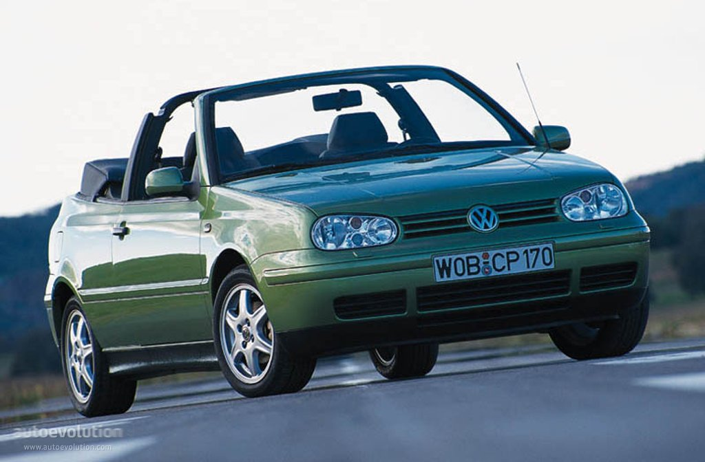 volkswagen golf iv cabrio specs photos 1998 1999. Black Bedroom Furniture Sets. Home Design Ideas