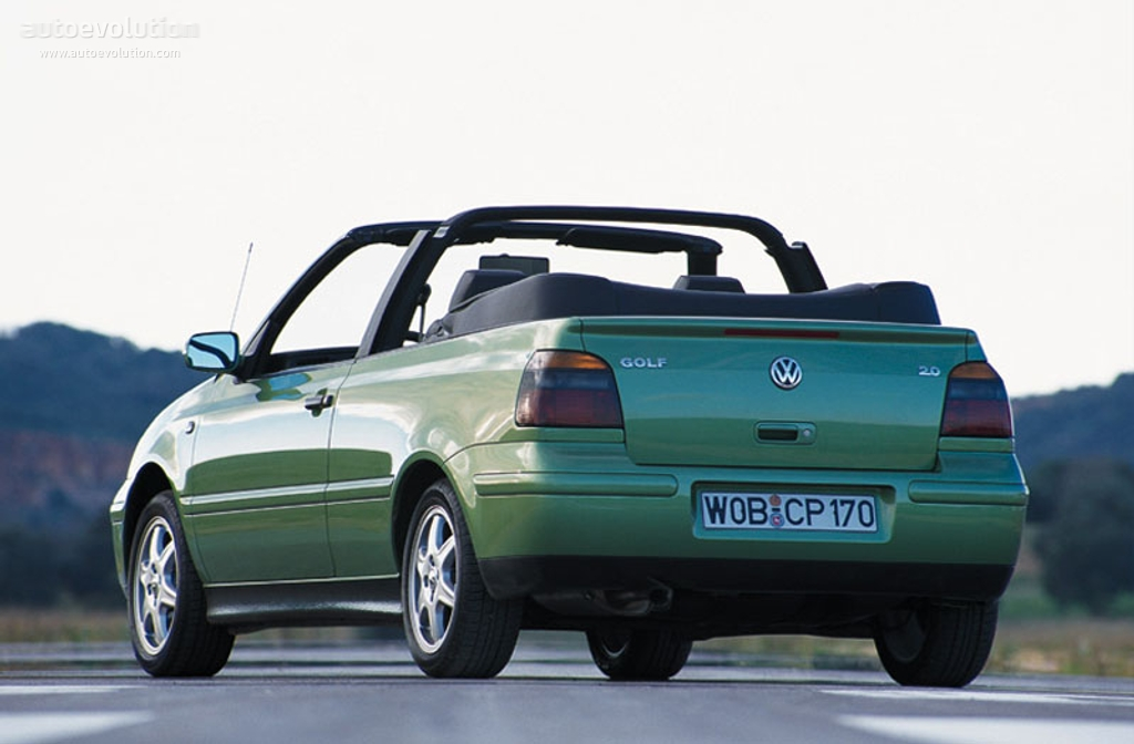 volkswagen golf iv cabrio specs 1998 1999 2000 2001. Black Bedroom Furniture Sets. Home Design Ideas