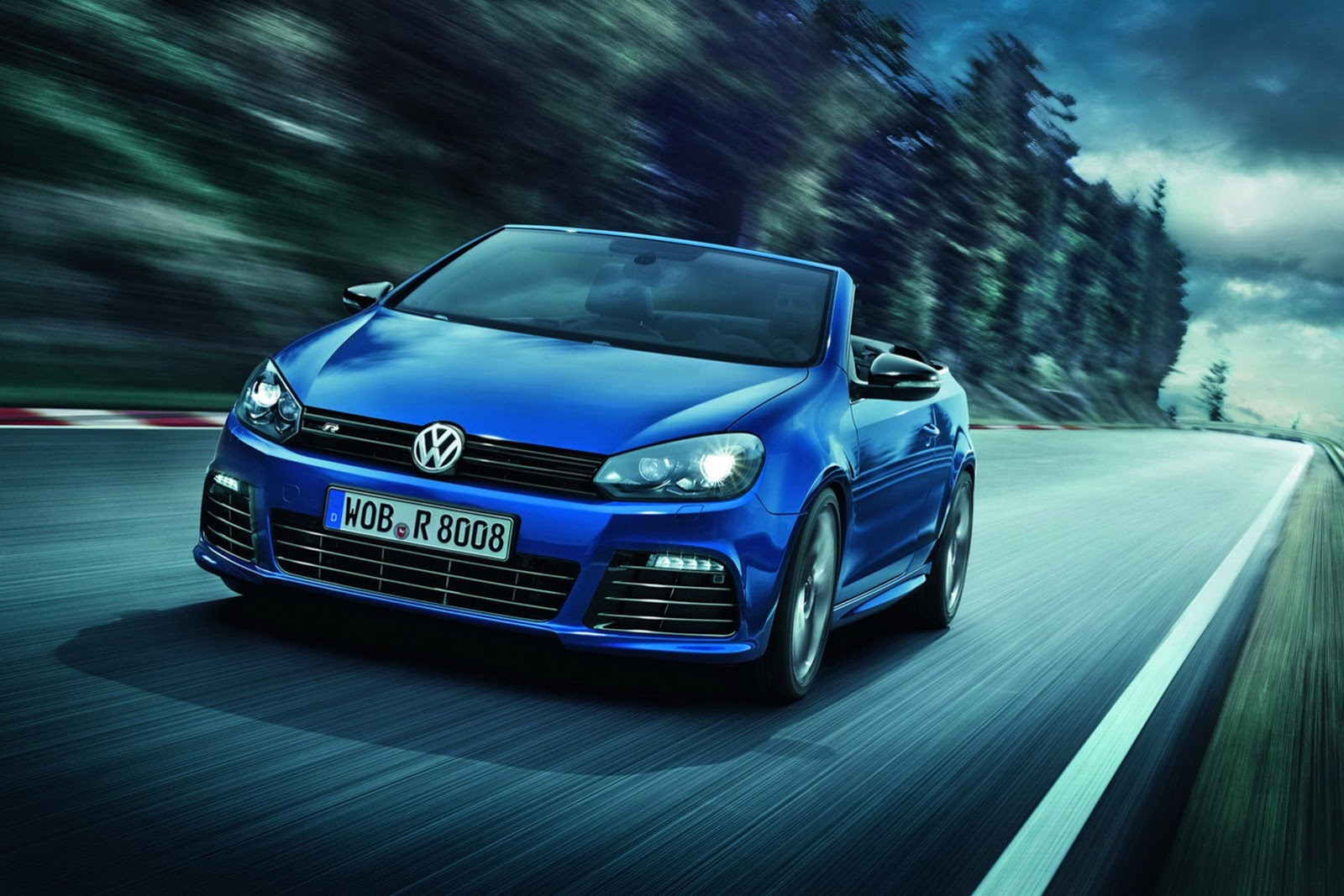 VOLKSWAGEN Golf VI R Cabrio specs & photos - 2013, 2014, 2015, 2016, 2017 - autoevolution