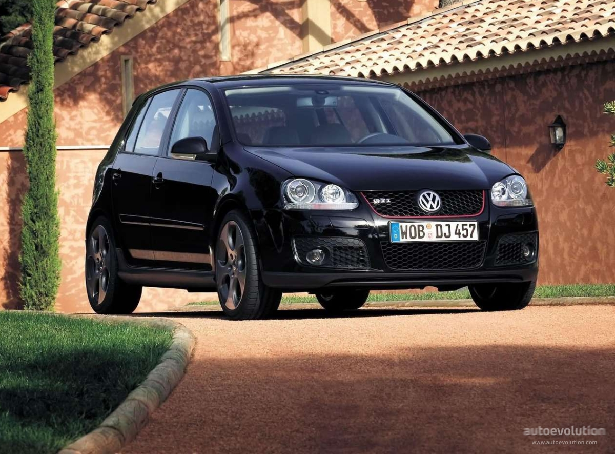 VOLKSWAGEN Golf V GTI 5 Doors specs & photos - 2004, 2005, 2006, 2007, 2008 - autoevolution
