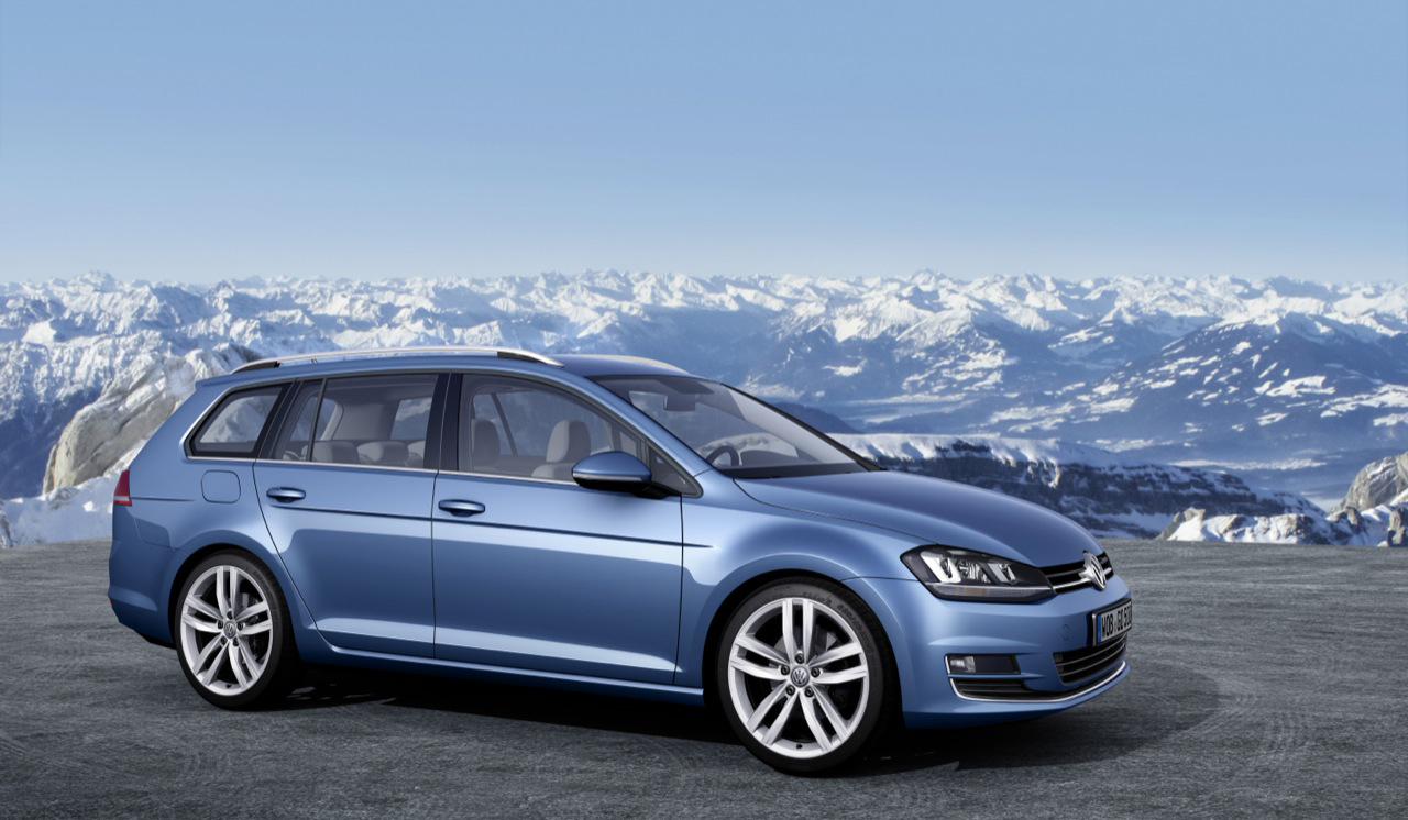 volkswagen golf vii variant specs photos 2013 2014. Black Bedroom Furniture Sets. Home Design Ideas