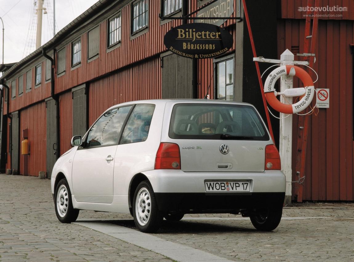 VOLKSWAGEN Lupo 3L specs & photos - 1999, 2000, 2001, 2002, 2003, 2004, 2005 - autoevolution