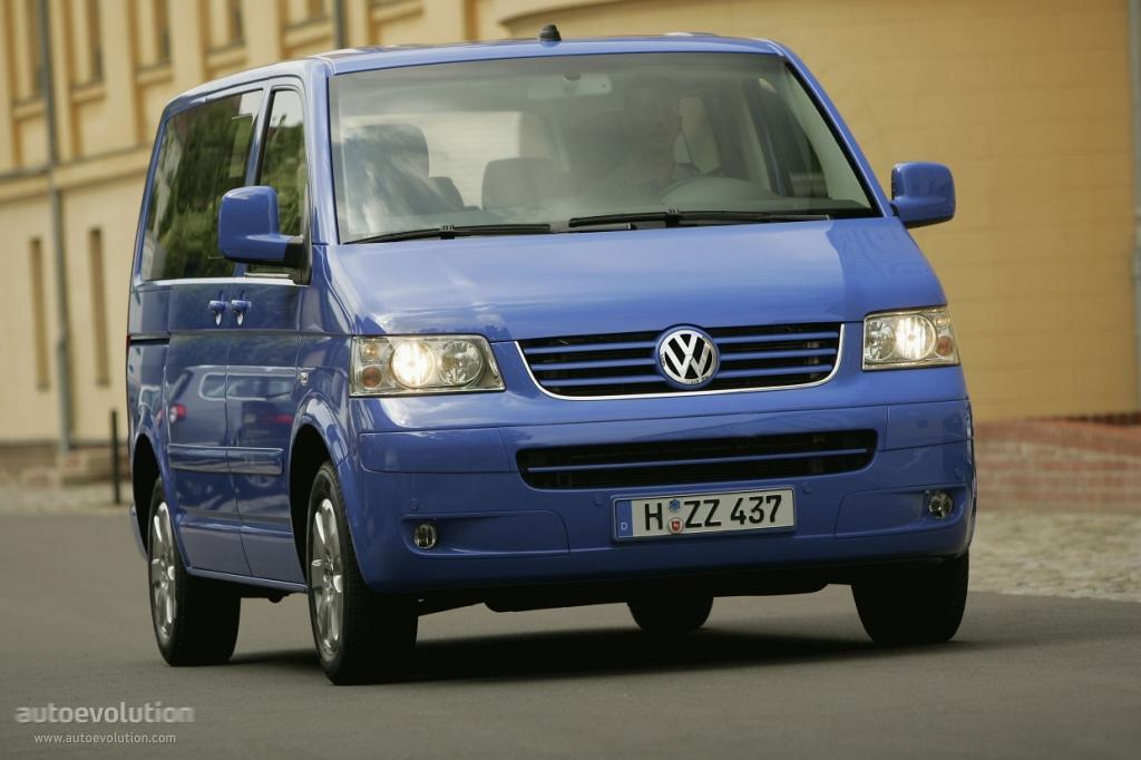 Volkswagen Multivan 2003 2004 2005 2006 2007 2008