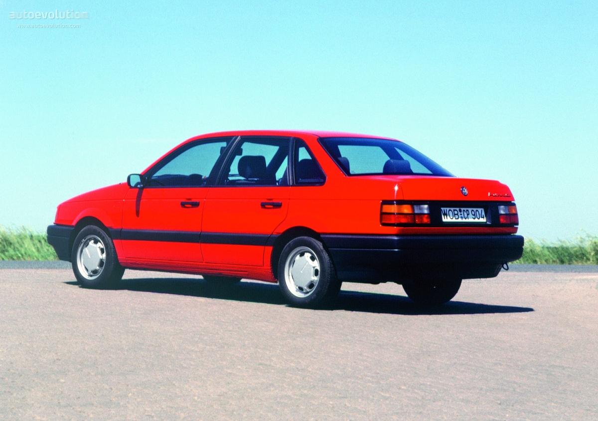 Volkswagen Passat Specs 1988 1989 1990 1991 1992