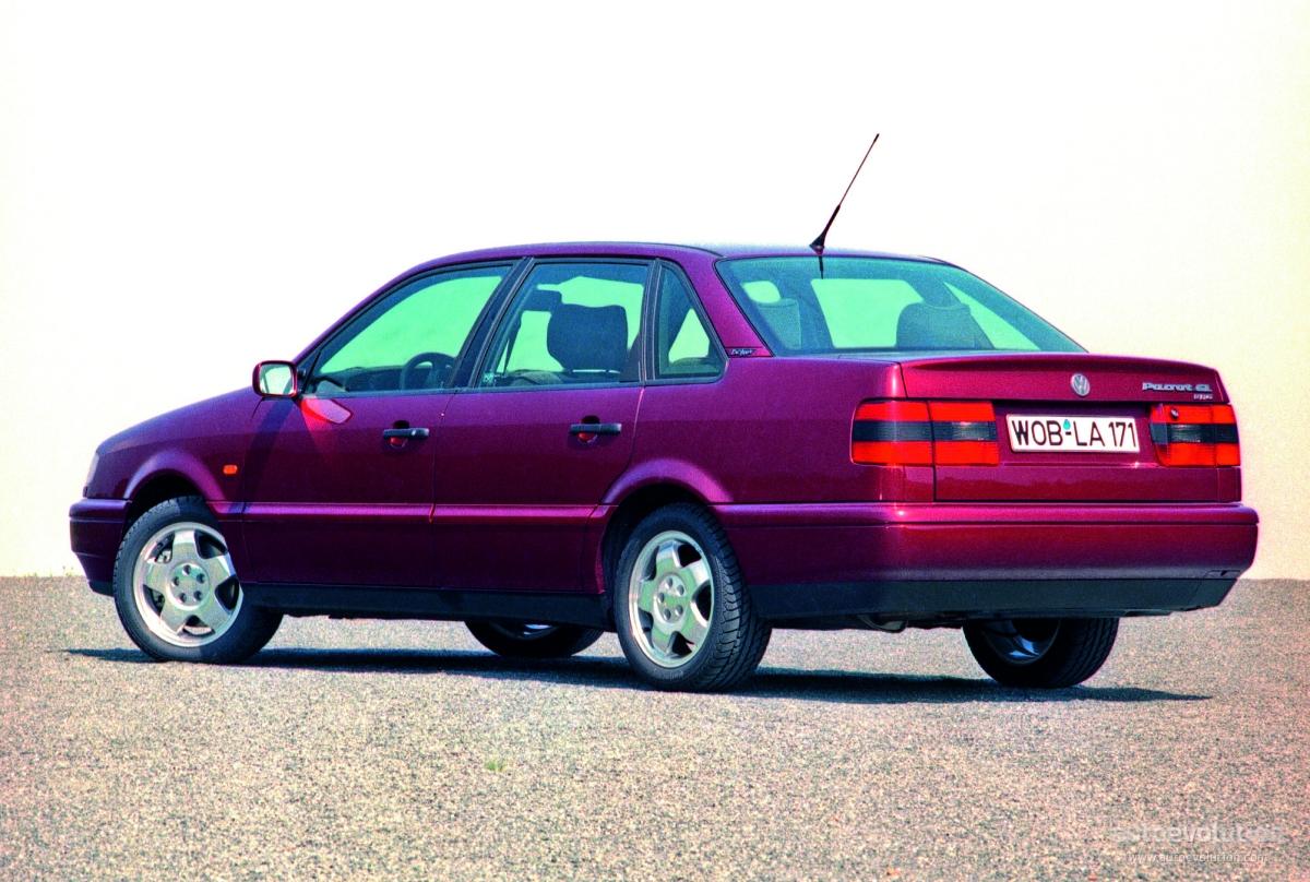Volkswagen Passat 1993 1994 1995 1996 Autoevolution
