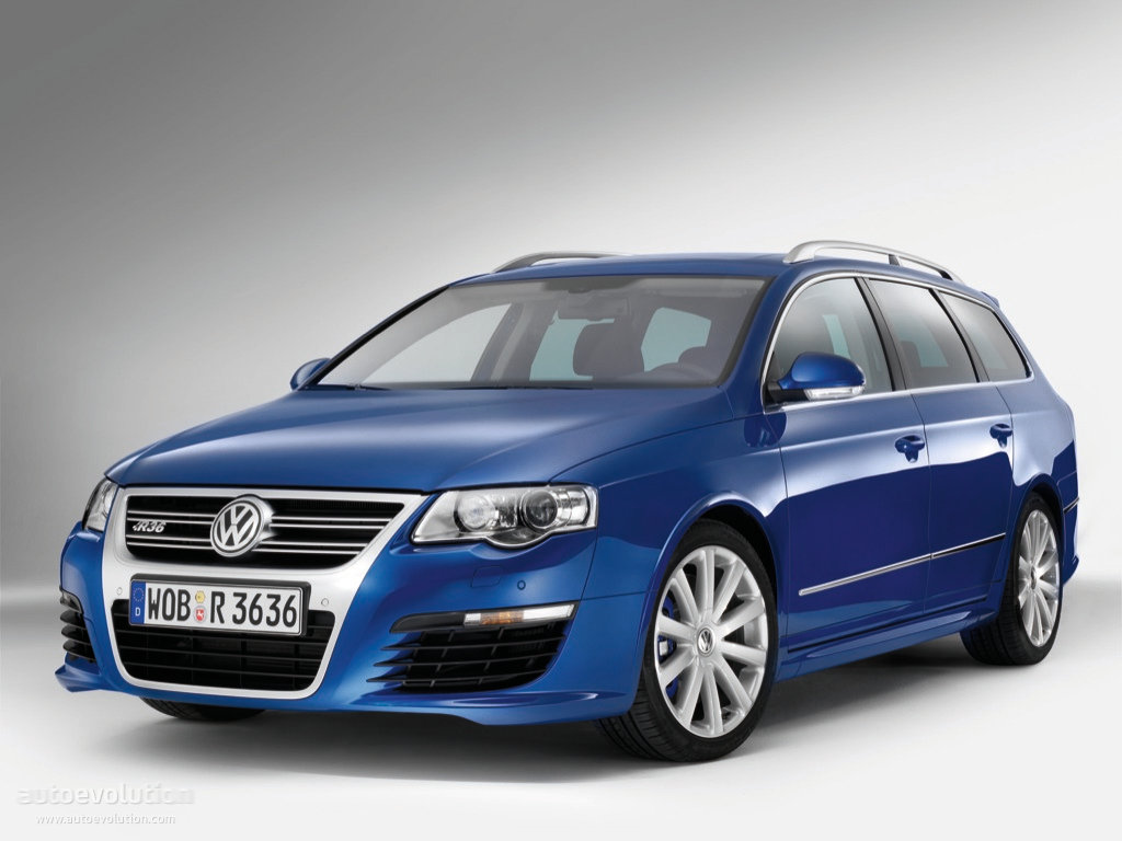 volkswagen passat r36 variant specs 2008 2009 2010 autoevolution. Black Bedroom Furniture Sets. Home Design Ideas