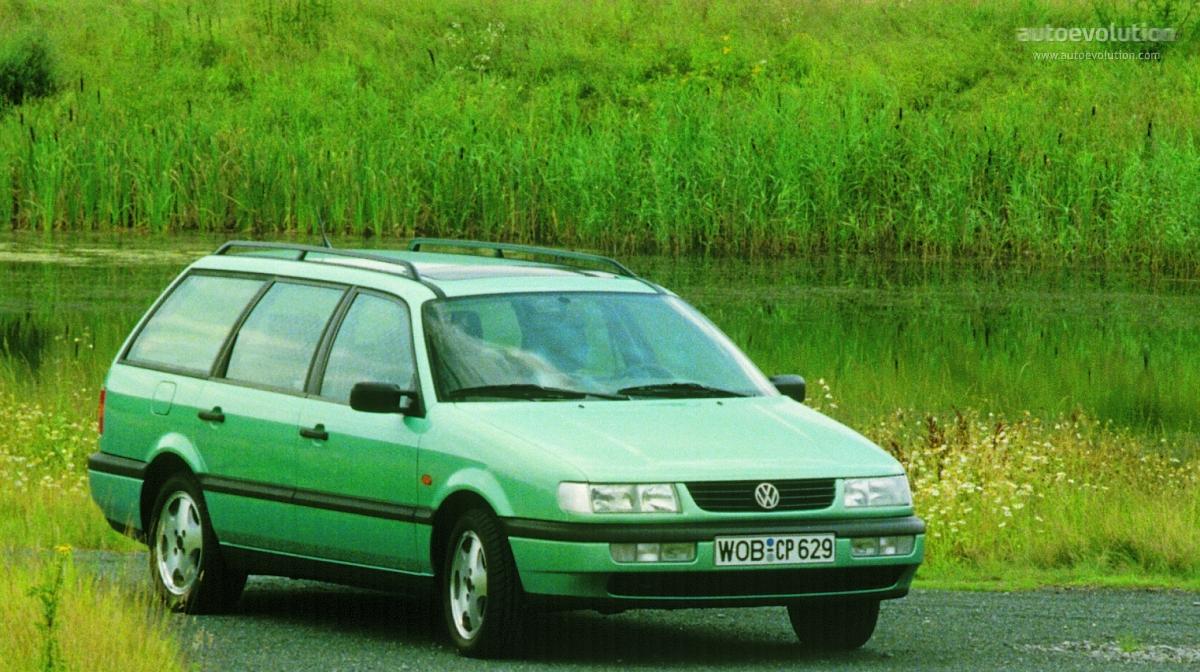 VOLKSWAGEN Passat Variant specs & photos - 1993, 1994, 1995, 1996, 1997 - autoevolution