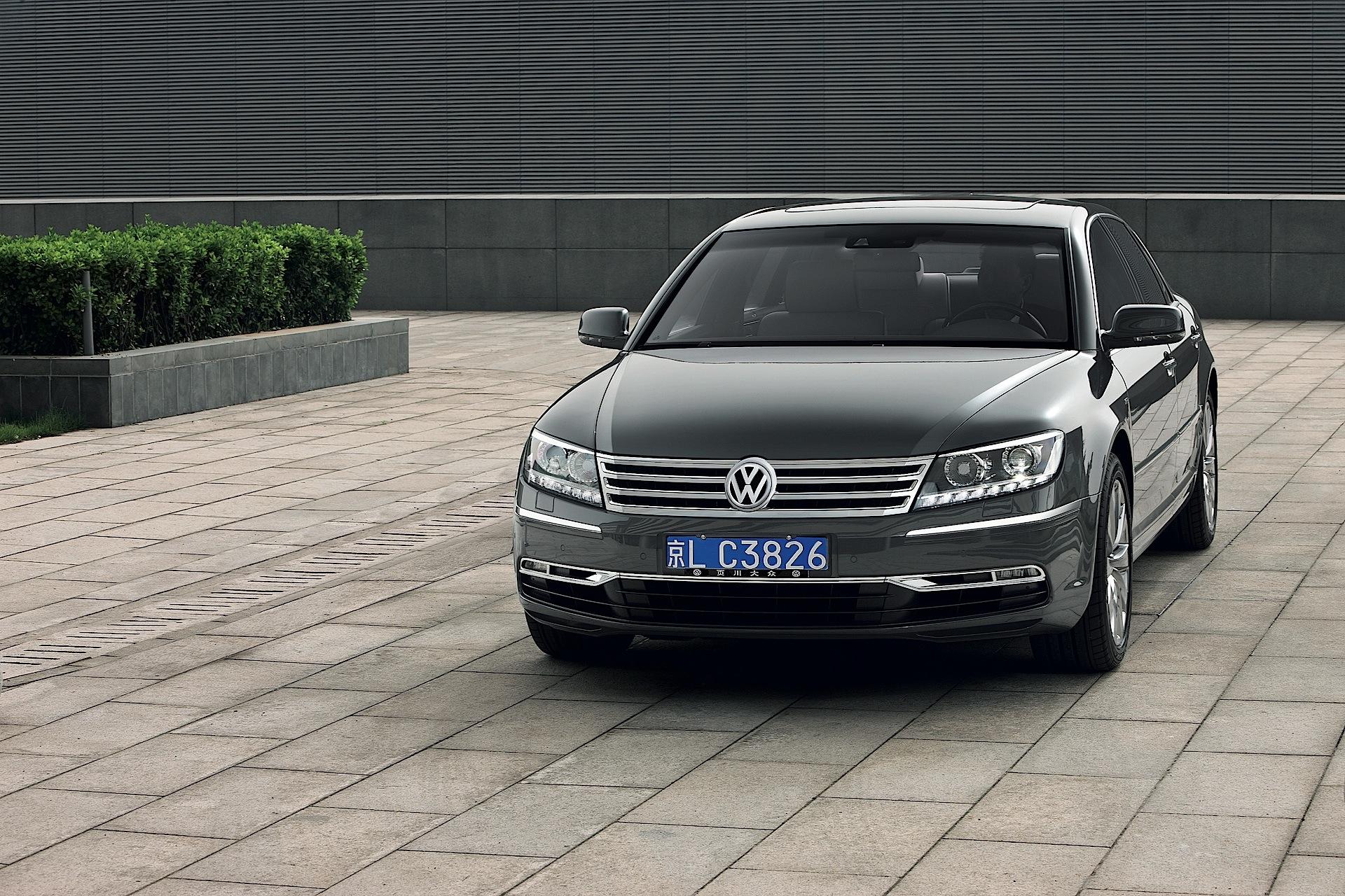 Volkswagen Phaeton Specs Amp Photos 2010 2011 2012 2013