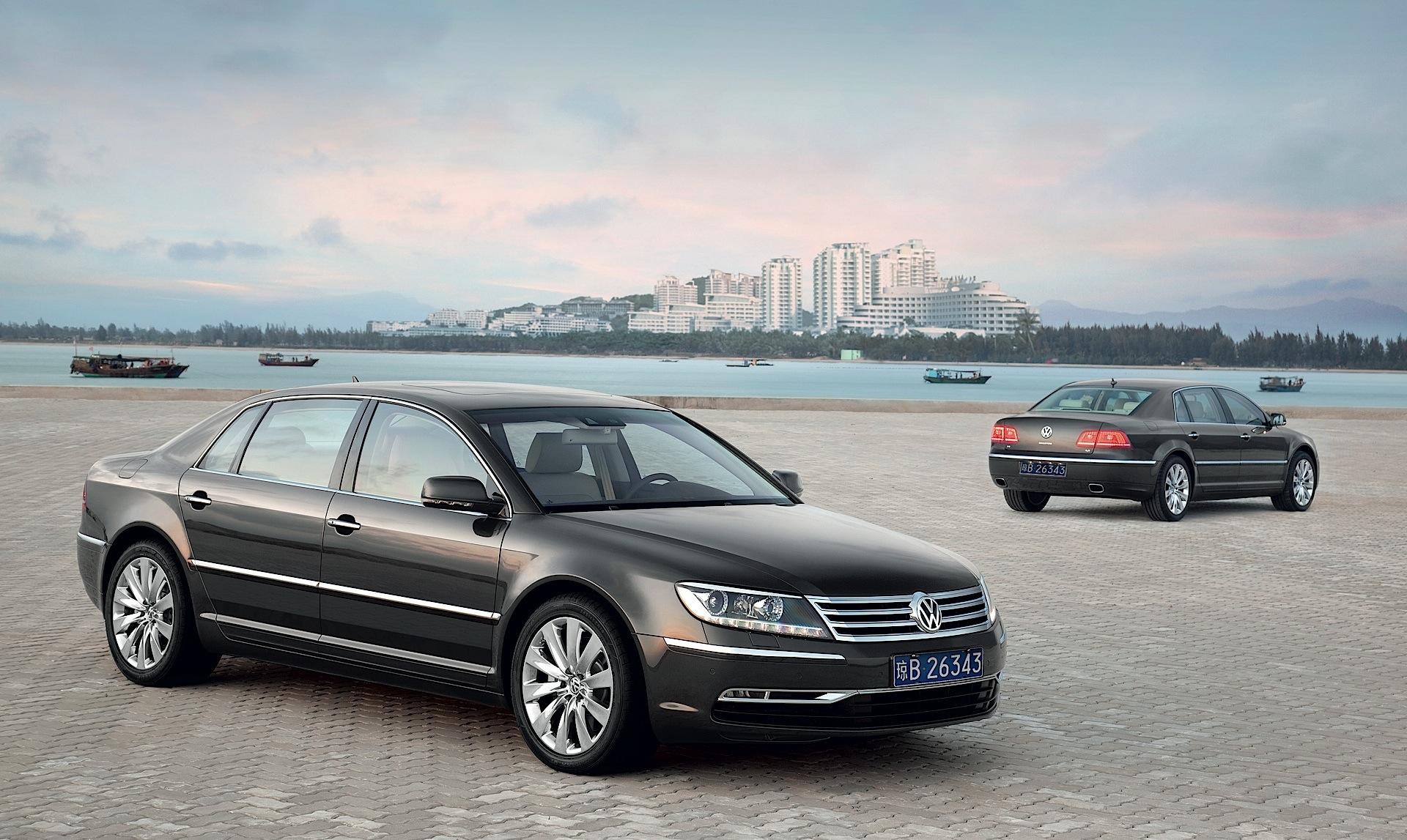 Volkswagen Phaeton 2010 2011 2012 2013 2014 2015