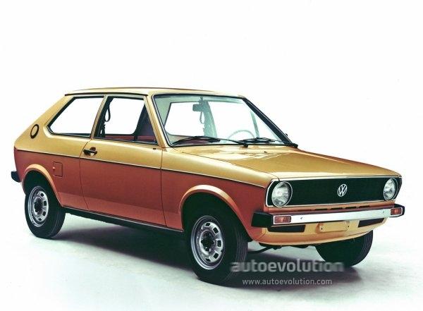 Volkswagen Polo 3 Doors 1975 1976 1977 1978 1979