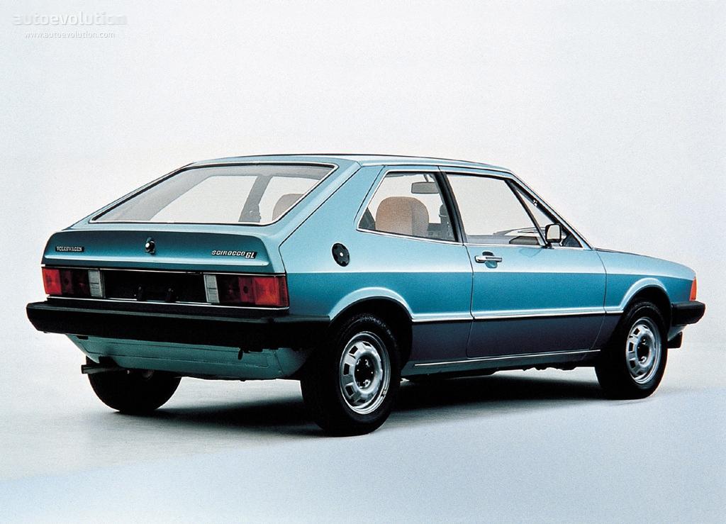 Volkswagen Scirocco 1977 1978 1979 1980 1981