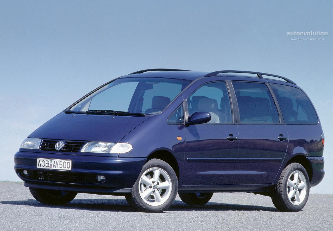 Volkswagen Sharan 1996 1997 1998 1999 2000