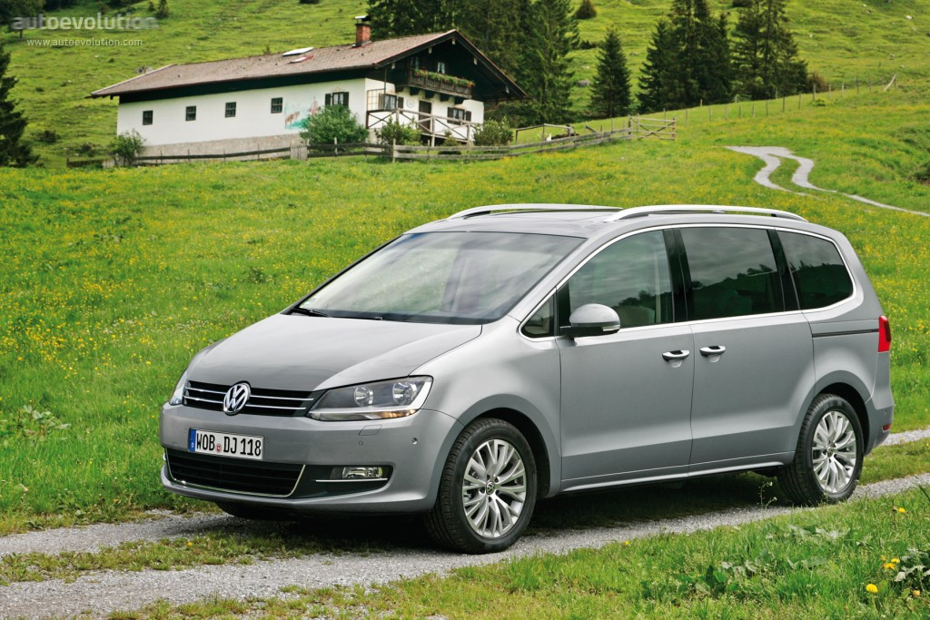 Volkswagen Sharan Specs Amp Photos 2010 2011 2012 2013