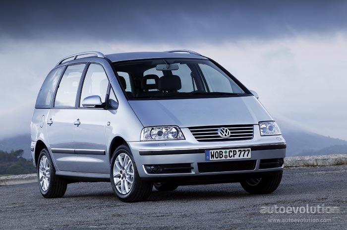 Volkswagen Sharan 2000 2001 2002 2003 2004 2005