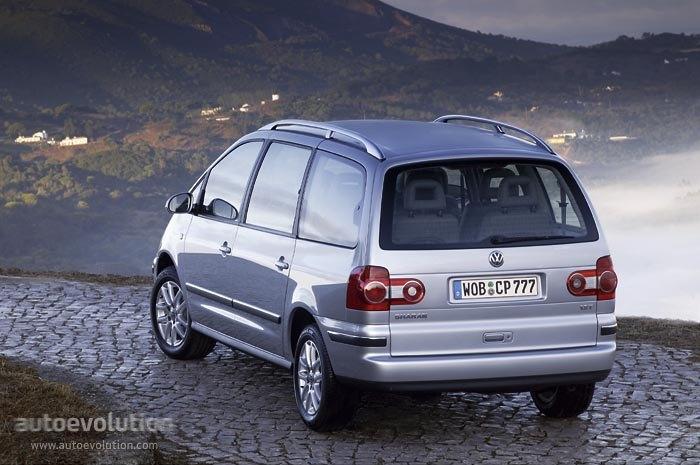Volkswagen Sharan Specs 2000 2001 2002 2003 2004