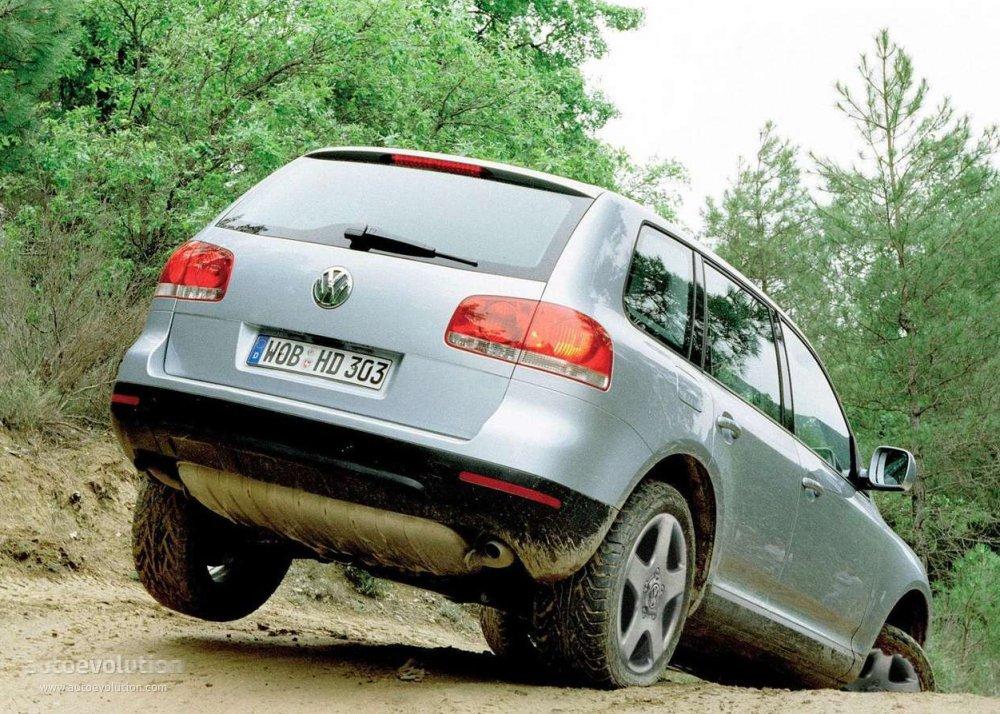 Volkswagen Touareg 2002 2003 2004 2005 2006 2007