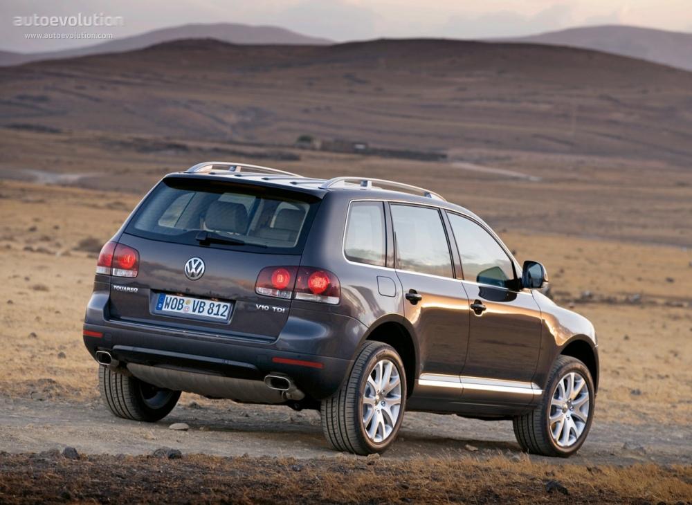 Volkswagen Touareg 2007 2008 2009 2010 Autoevolution