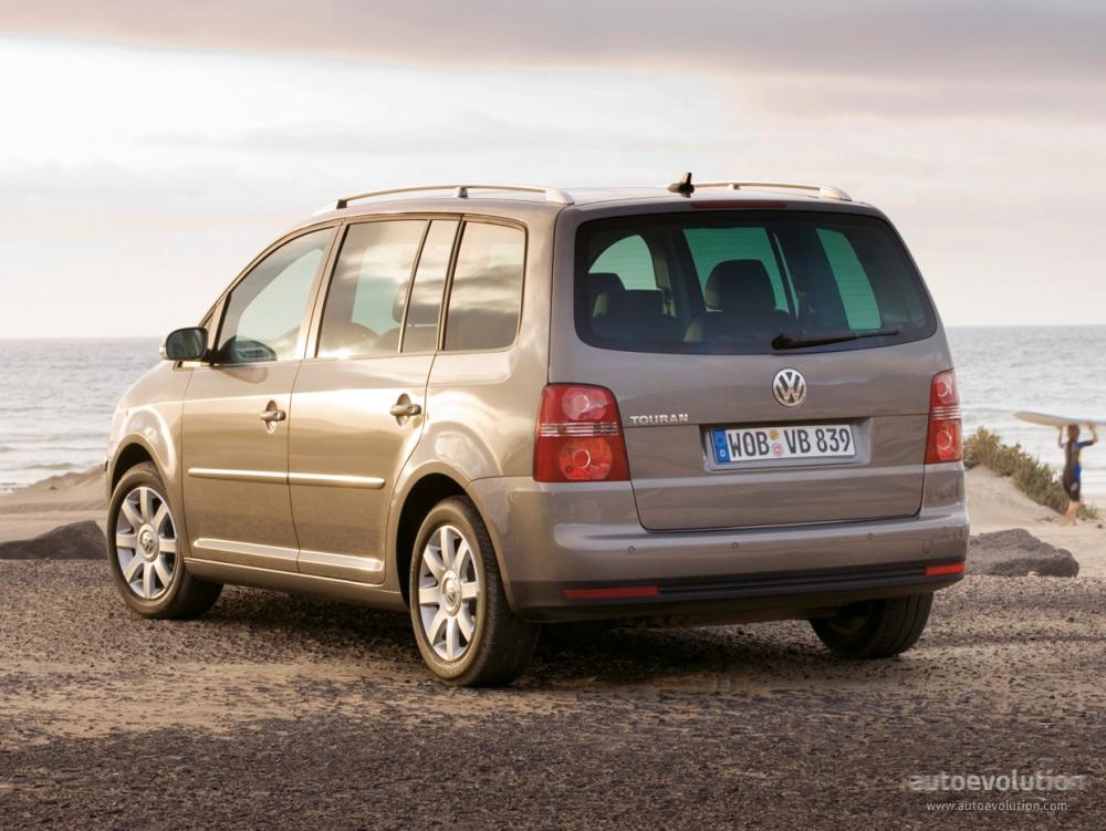 Volkswagen Touran 2006 2007 2008 2009 2010