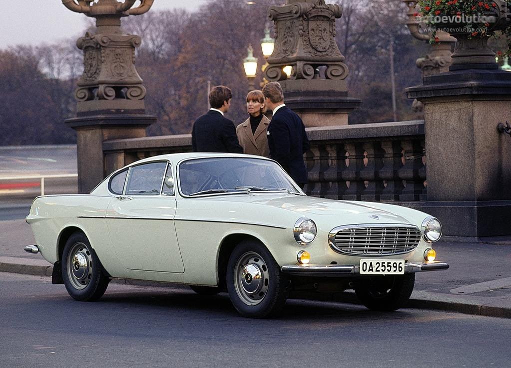 VOLVO P1800 - 1961, 1962, 1963, 1964, 1965, 1966, 1967, 1968, 1969, 1970, 1971, 1972, 1973 ...