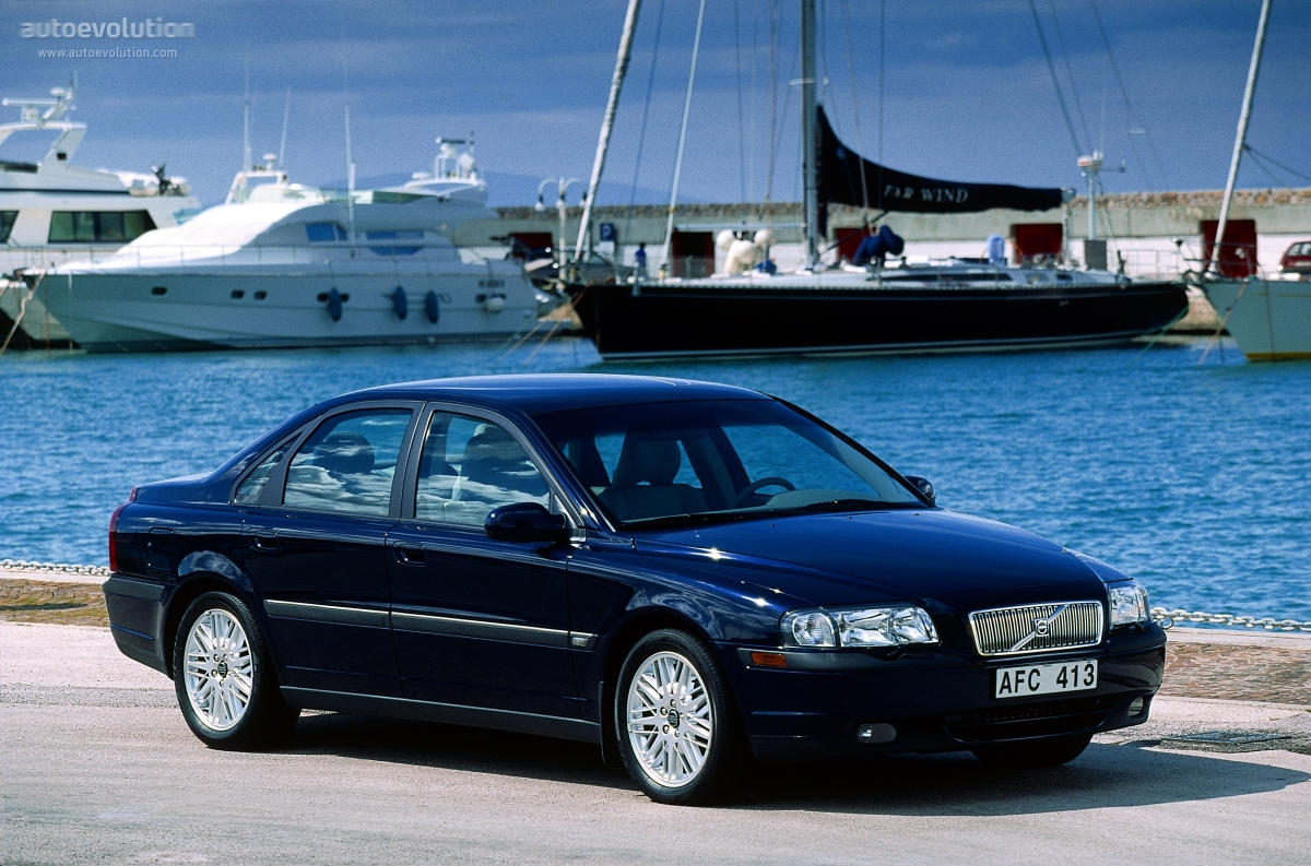 VOLVO S80 specs & photos - 1998, 1999, 2000, 2001, 2002, 2003 - autoevolution