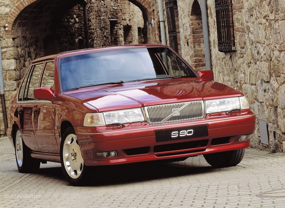 Volvo S90 1997 on gmc engine colors