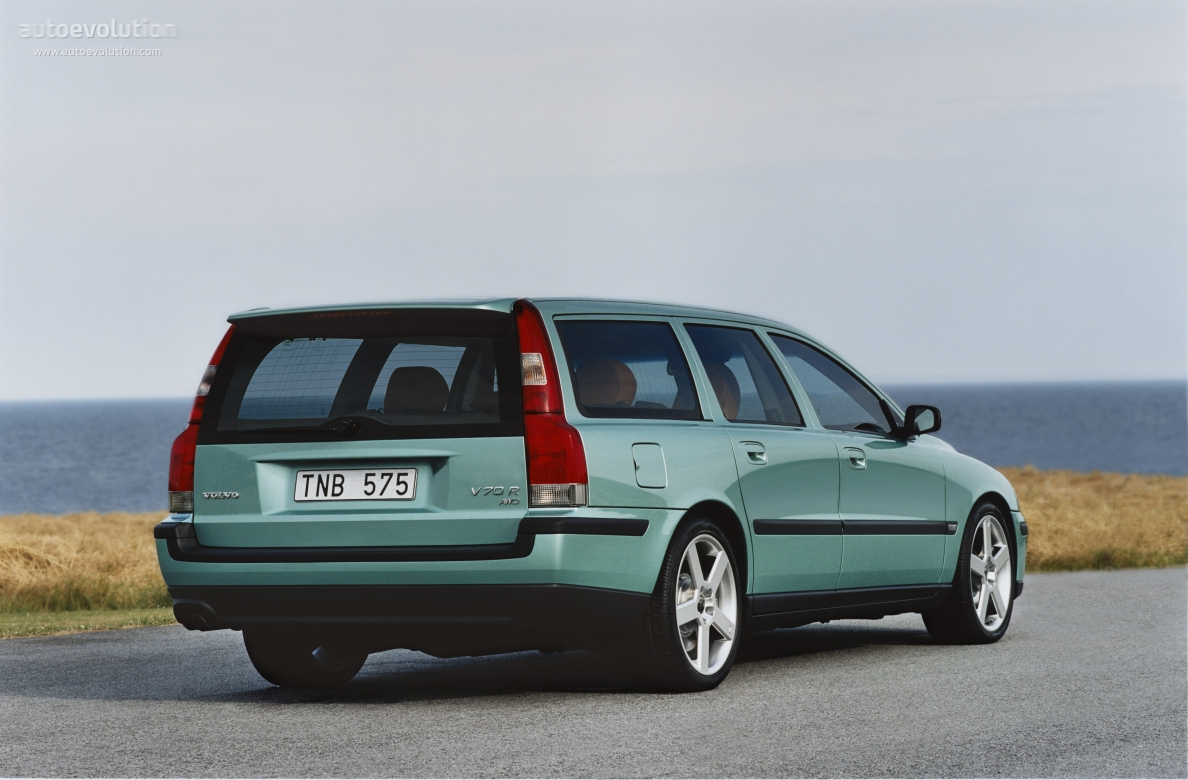 VOLVO V70 R specs & photos - 2003, 2004 - autoevolution
